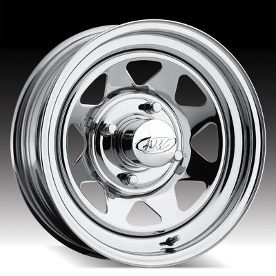 90 - VW Chrome Spoke Tires